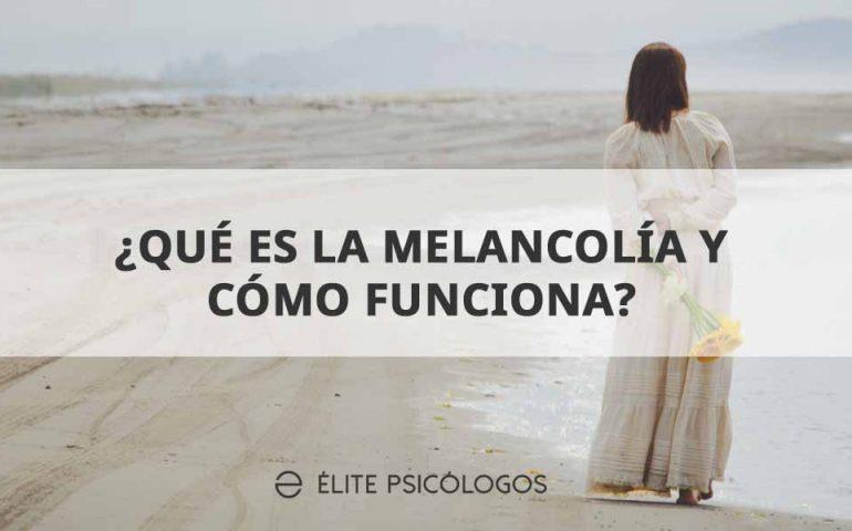 Melancolia- distimia