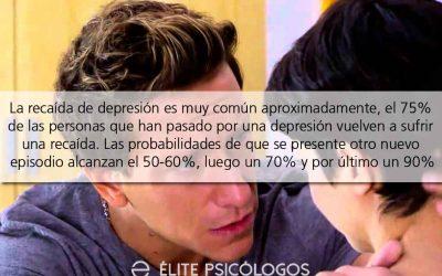 Como superar una recaida en la depresion y evitar medicarse