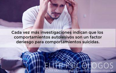 Comportamiento autolesivo en niños y adolescentes