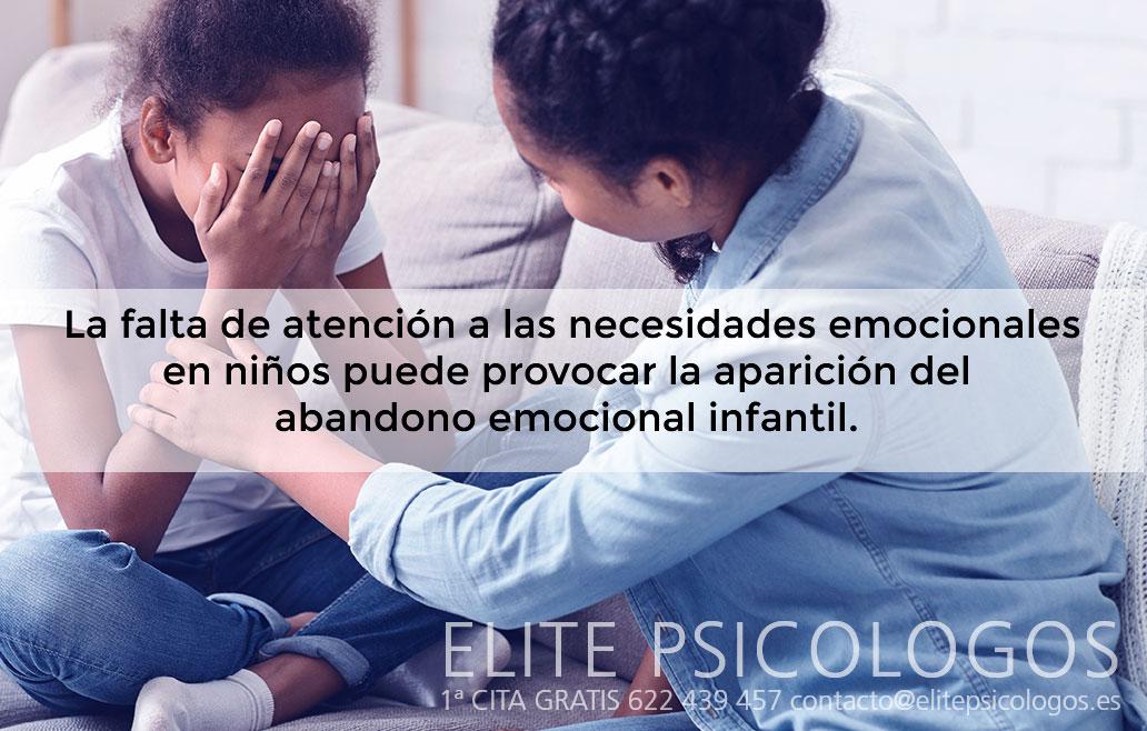 ¿Qué es el abandono emocional infantil?