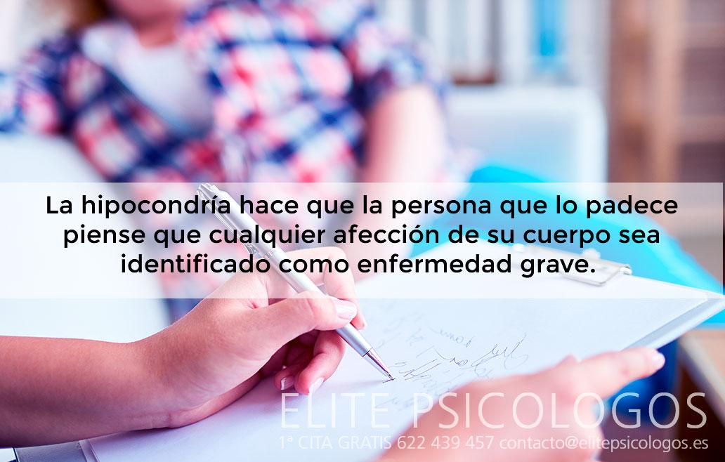 Tratamiento para hipocondriacos en Madrid