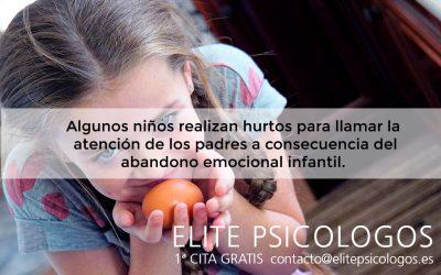 Tratamiento psicológico para niños que roban
