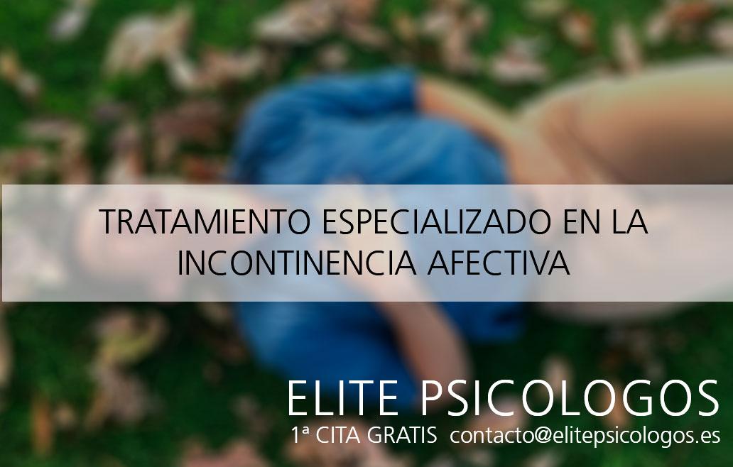 ¿Qué es el Síndrome de incontinencia afectiva?