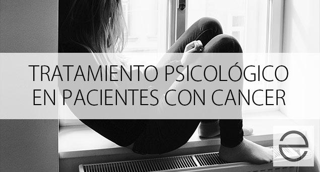 Tratamiento psicológico en pacientes con cáncer