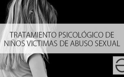 Tratamiento psicológico de niños víctimas de abuso sexual