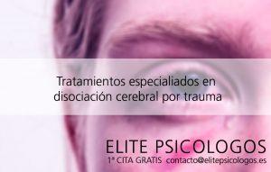 Disociación cerebral por trauma