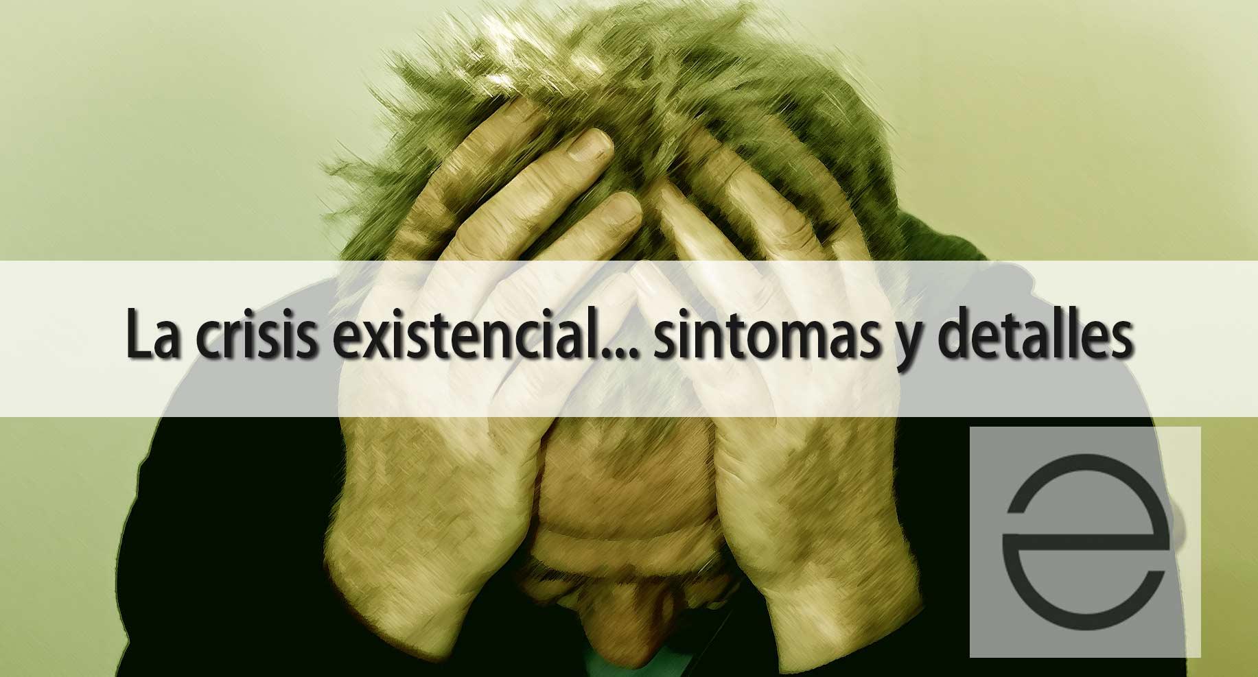 La crisis existencial es dura y tiene tratamiento