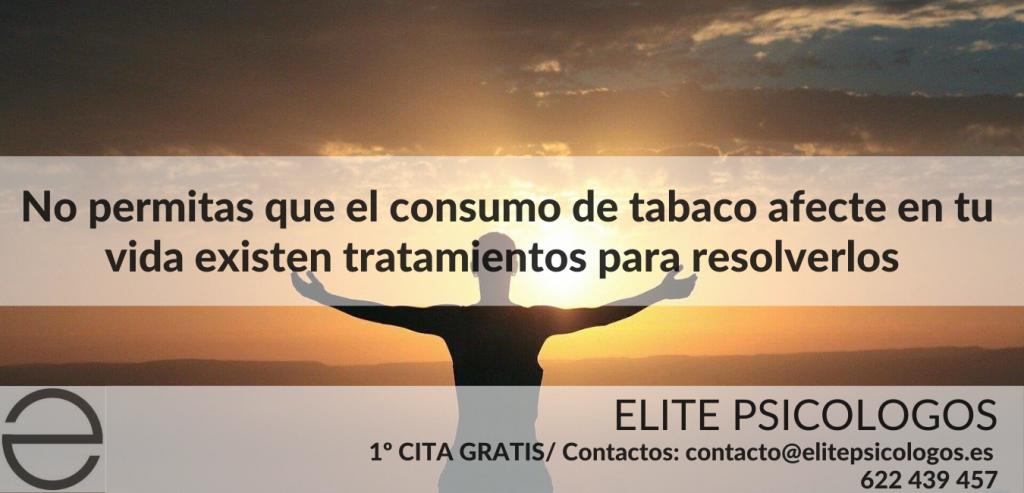 tratamiento psicologico para consumo de tabaco