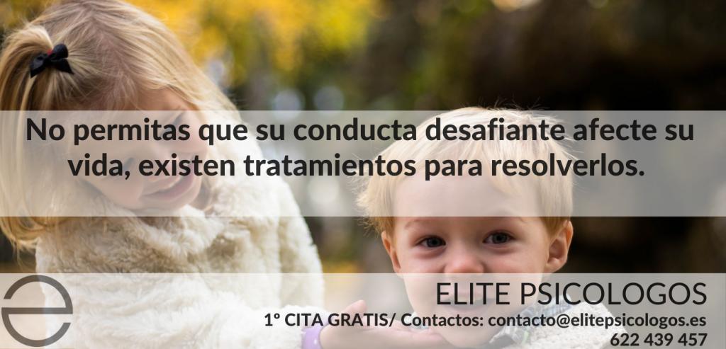 trastornos de la conducta disruptiva en la infancia yla adolescencia diagnóstico y tratamiento