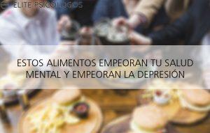 Alimentos prohibidos si tienes depresión