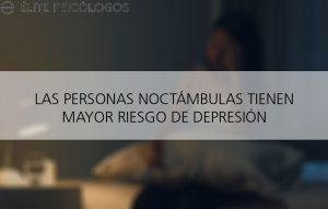 Trasnochar aumenta el riesgo de depresión